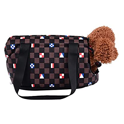 FORET TERRAIN Hand Bag or Shoulder Bag for transporting small dogs or cats petits L 1