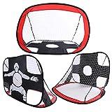 2in1 faltbares Kind Fußball Target Fußballtore Net.Für Kinder im Freien im Freienfußball, Fußball und anderer Sport, ideal für Kinder Geschenk