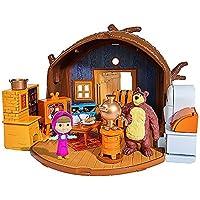 Masha y el Oso Playset casa figuras y accesorios (Simba 9301632)