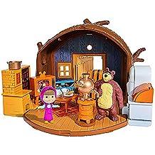 Masha y el Oso - Playset con figuras y accesorios (Simba 9301632)