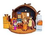 Masha e Orso - Masha and the Bear - Play Set - Casa Orso IncernieratoCon Casa Orso Playset immergersi nel mondo della piccola Masha e l'orso scontroso. La grande porta conduce nella casa dell'orso. Qui si può fare da soli sulla sedia comodamente e gu...