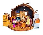 Masha e Orso - Masha and the Bear - Play Set - Casa Orso IncernieratoCon Casa Orso Playset immergersi nel mondo della piccola Masha e l'orso scontroso. La grande porta conduce nella casa dell'orso. Qui si può fare da soli sulla sedia comodame...
