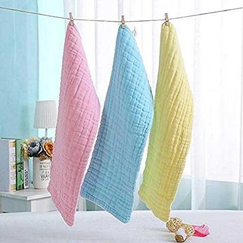 Icekon New Baby 10 Strato Colorato Cotone Lavabile Riutilizzabile Morbido Panno Pannolino Inserti 5 (Pannolino Unguento)