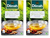 #6: Dilmah Green Tea With Cinnamon, 50g (Pack of 2)