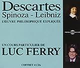 Descartes - Spinoza - Leibniz - Philosophique (4CD)