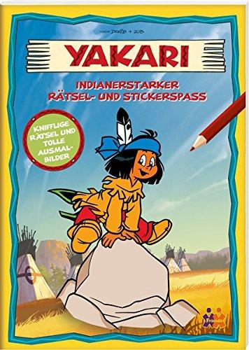 Yakari. Indianerstarker Rätsel- und Stickerspaß