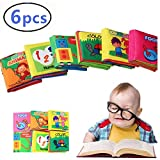 DQTYE Soft 6-Pack Babys First Book Cute Infant Empieza a Aprender...