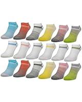 """6 oder 12 Paar Damen Sneaker Socken """"Gute Laune"""" Baumwolle - 36349"""