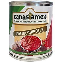 SALSA CHIPOTLE 215g - CANASTAMEX