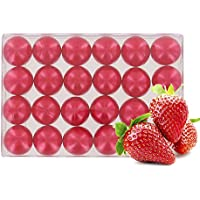 Caja de 24 perlas de aceite de baño nacaradas - Fresa