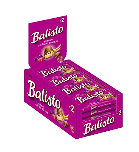 Balisto Joghurt-Beeren-Mix Riegel, 20 Riegel (20 x 37 g)