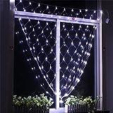 BABIFIS LED Net Licht Fischernetz Licht Outdoor Weihnachtsbeleuchtung Sternenhimmel Wasserdichte Dekorative Lichter Urlaub Hochzeit Mesh Hintergrund Lichter