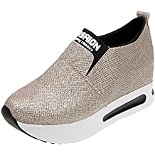 6582e1124 zapatos con plataforma baratos - Amazon.es