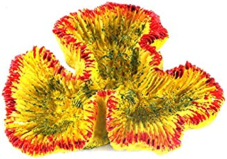 Sri Artificial Coral Aquarium Decoration Ornament for Fish Tank, Multicolor (Small)