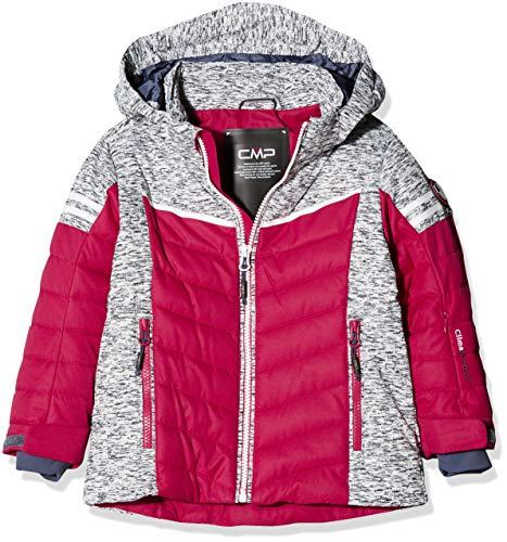 CMP Mädchen Wattierte 5000 Twill Skijacke Jacke, Granita, 116