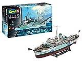 Revell CLAS Maqueta Flower Class Corvette HMS Buttercup, Modello,...