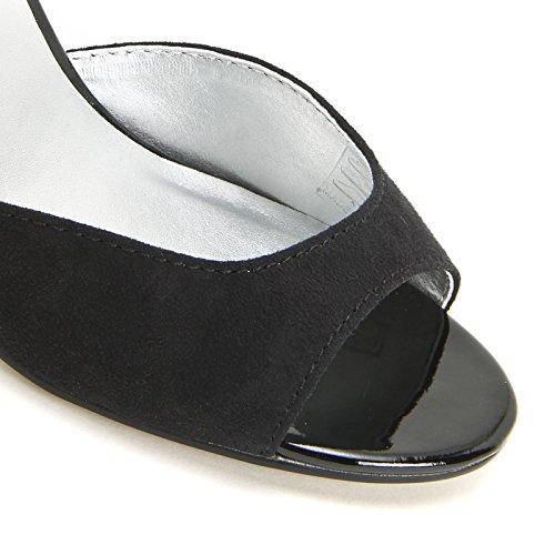 PRENDIMI by Scarpe&Scarpe - Sandales hautes avec bride à la cheville, à Talons 9 cm Noir