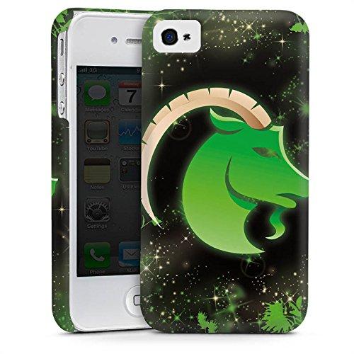 Apple iPhone 5s Housse Étui Protection Coque Signes du zodiaque Bouquetin Capricorne Astrologie Cas Premium mat