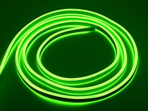Bada Bing LED Neonlicht Schlauch Lichtschlauch Doppelseitig Lichterkette Lichtband Grün Neon Neongrün Neonschlauch Neonband Band Ohne Lichtpunkt Durchgängig Leuchtend IP44 Neuheit Trend 02 (Pink Panther Band 2)