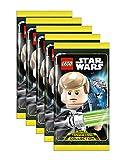 Unbekannt Lego Star Wars - Serie 1 Trading Cards - 5 Booster - Deutsch