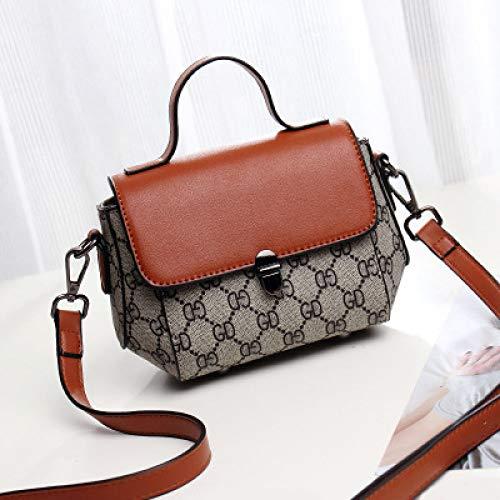 LFGCL Bags womenHandbag Lady Personality vielseitige Schultertasche diagonal Cross Bag, braun