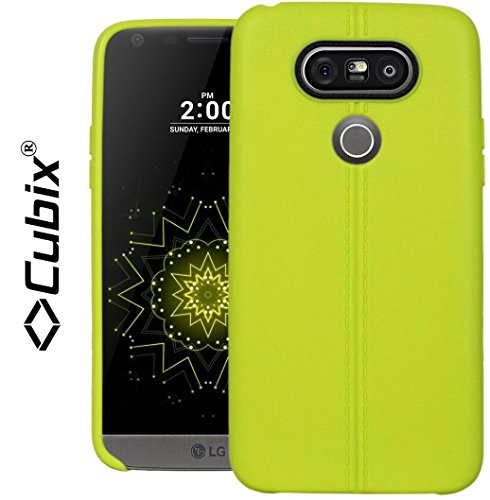 LG G5 Case, CUBIX Stiched Line Design Armor Flip TPU Back Case Cover For LG G5 (Green)  available at amazon for Rs.349