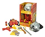 Theo Klein 8953 Henry Firefighter Set with 6 Pieces, Toy, Multi-Colored