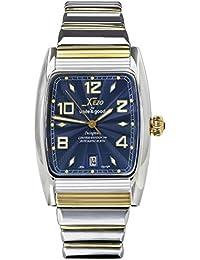 Xezo für Unite4:good Incognito Vergoldet Tonneau Automatik-Uhr. Schweizer Saphirglas, Citizen-Uhrwerk, Serie