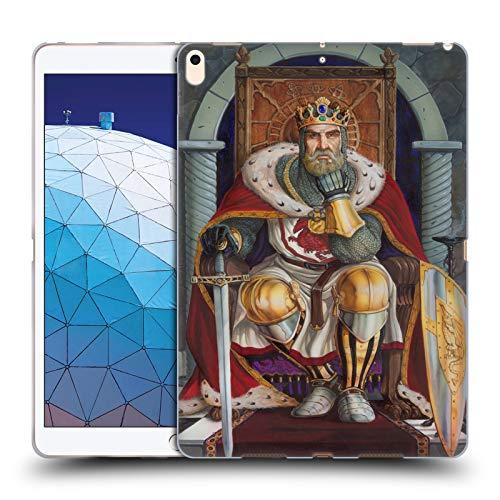Head Case Designs Offizielle Ed Beard Jr King Arthur Mittelalterlich Soft Gel Huelle kompatibel mit iPad Air (2019) -