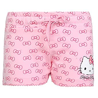 8e1ca9103d Hello Kitty Girls' Regular Fit Shorts: Amazon.in: Clothing & Accessories