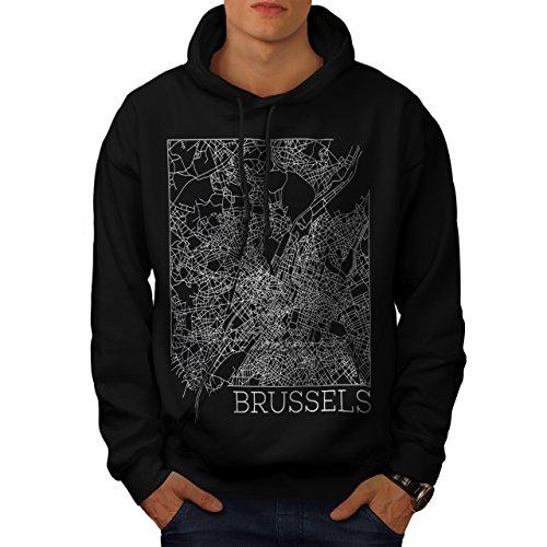 belgium-brussels-map-big-town-men-new-black-s-hoodie-wellcoda