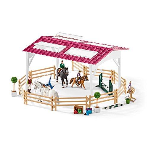 Preisvergleich Produktbild Schleich 42389 - Reitschule mit Reiterinnen und Pferden
