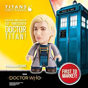"""DOCTOR WHO 13th DOCTOR TITANS 6.5"""" VINYL FIGURE SDCC"""