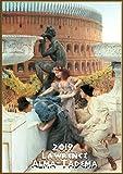 Pixiluv 2019Calendrier Mural [12Pages 20,3x 27,9cm] Grec Antique Rome Les scènes de la Vie par Lawrence Alma-Tadema Vintage Peinture