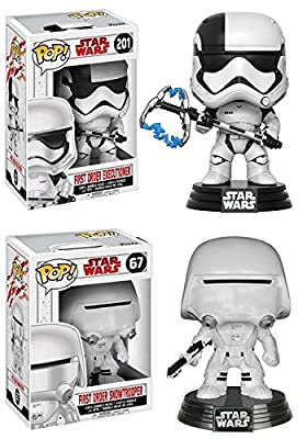 Funko POP! Star Wars The Last Jedi: Executioner + Snowtrooper – Stylized Vinyl Bobble-Head Figure Set NEW