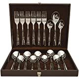 Shapes Zodi Stainless Steel 304 Grade, 18/10 & Cup Rolled 18 Pieces Cutlery Set