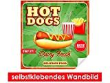 Best brotes Posters - Adhesivo Pared de Best Hot Dogs–Fáciles de pegar–Wall Review