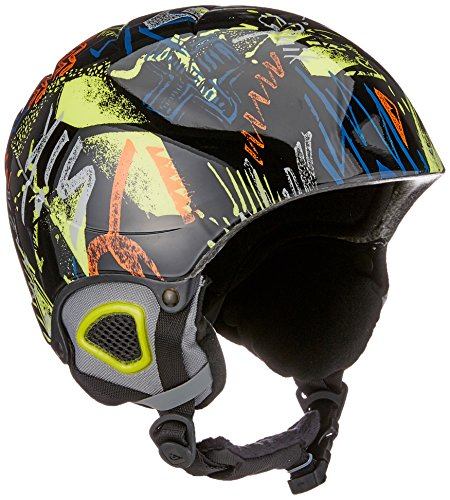 Quiksilver The Game Cascos Snowboard/Esquí, Hombre, Anthracite, 52