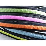 CWQYD Hundegeschirr LED-Haustierleine Glowing Pet Traction Rope Flashing Stretch Strip, Gelb, 120Cm