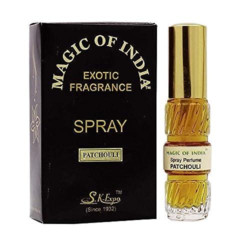 Magie De L'Inde Patchouli Naturel Parfum Vaporisateur De Parfum Exotique -20 ml