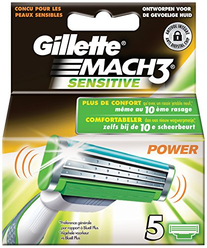 gillette-mach3-sensitive-power-razor-blades-pack-of-5