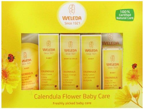 Weleda Coffret de mini produits au calendula biologique pour bébé