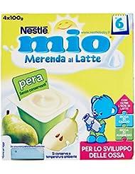 Nestlé Merenda al Latte e Pera - 4 Vasetti x 100 gr
