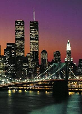 1art1 40528 New York - Manhattan 4-teilig, Fototapete Poster-Tapete (254 x 183 cm) von 1art1 bei TapetenShop