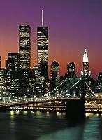 """1art1 Poster/papier-peint en 4 parties """"Manhattan"""", 254 x 183 cm pas de cadre"""