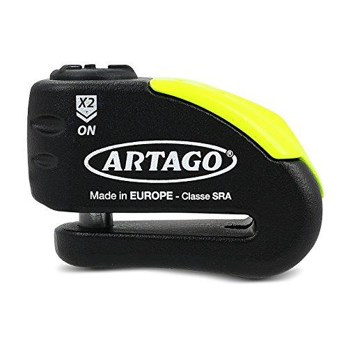 Motorrad Bremsscheibenschloss Artago 30x Alarm
