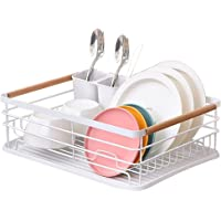 Egouttoir Vaisselle Evier Rangement Cuisine: Égouttoir Vaisselle en Fer Métal - Étagère Couverts Ustensiles d…