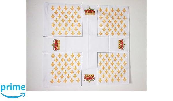 FLAGGE KÖNIGREICH FRANKREICH OBERST REGIMENT DES GARDES FRANÇAISES 1691-1789 90x
