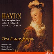 Piano Trios 43 31 26 & 39 by J. Haydn (2013-05-03)