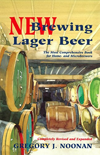 New Brewing Lager Beer: The Most Comprehensive Book for Home and Microbrewers (English Edition)